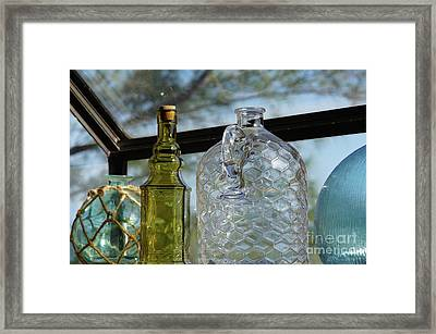 Thru The Looking Glass 2 Framed Print by Megan Cohen