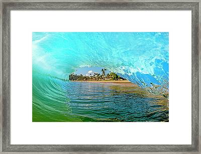 Thru The Looking Glass Framed Print