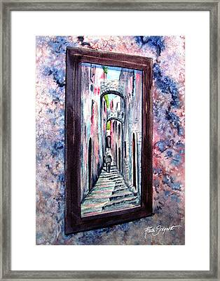 Thru The Looking Glass Framed Print by Ruth Bodycott