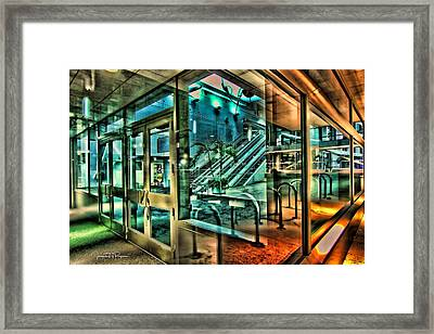 Thru The Window Framed Print