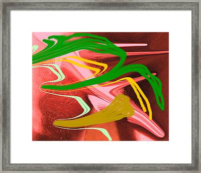 Thrust Framed Print by Allan  Hughes