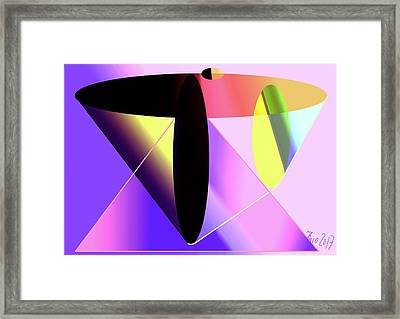 Thrust Framed Print by Helmut Rottler