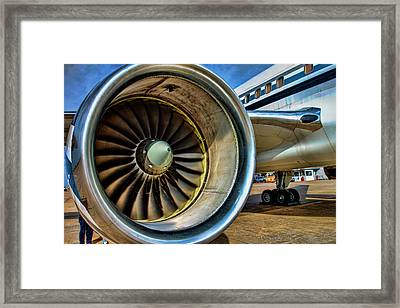 Thrust Framed Print