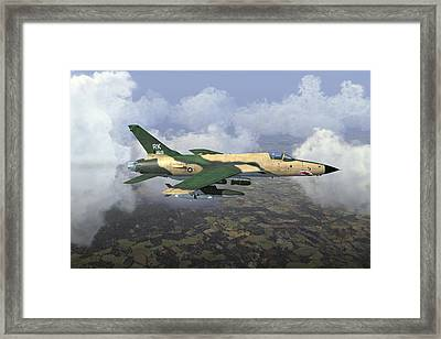 Thud Going  Framed Print