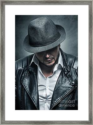 Thug Portrait Framed Print