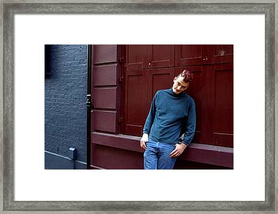 Thugulike Almost Happy Framed Print by Jez C Self