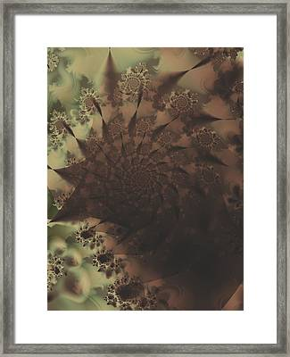 Thumb Print Framed Print by Lauren Goia