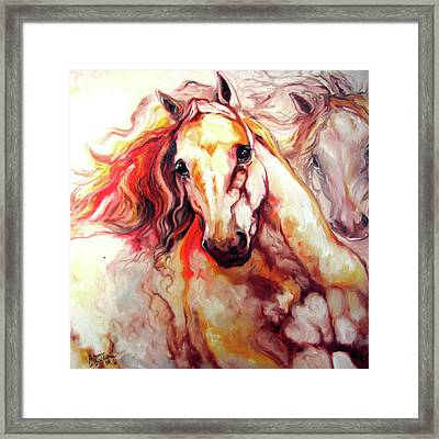 Thunder 24 Framed Print by Marcia Baldwin