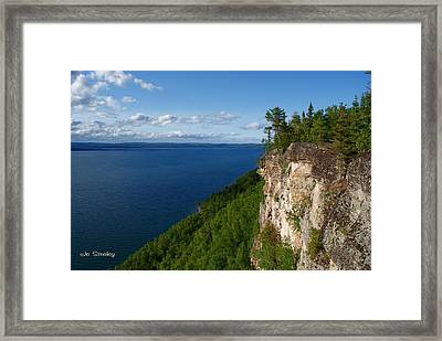 Thunder Bay Lookout Framed Print