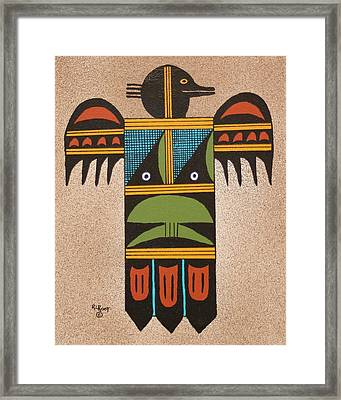 Thunder Bird #2 Framed Print