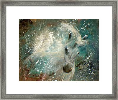 Poseiden's Thunder Framed Print