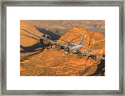 Thunder On The Mountain Framed Print