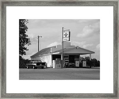 Thunder Road Framed Print by Robert Boyette