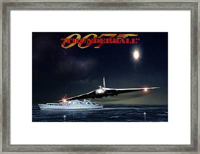 Thunderball Framed Print by Peter Chilelli