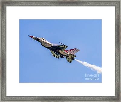 Framed Print featuring the photograph Thunderbird #5 by Nick Zelinsky