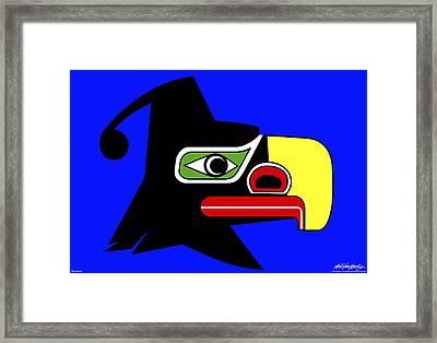 Thunderbird Framed Print by Asbjorn Lonvig