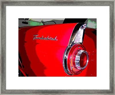 Thunderbird Framed Print by Audrey Venute