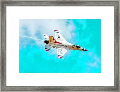 Thunderbird IIi Framed Print by Bill Gallagher
