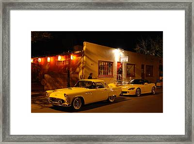 Thunderbird On The Street Framed Print