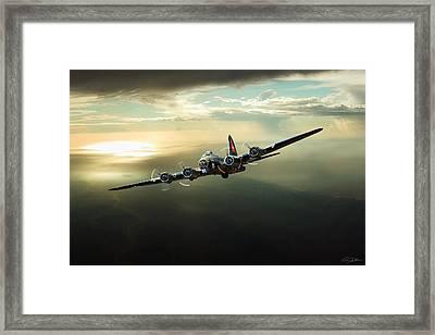 Thunderbird Framed Print by Peter Chilelli