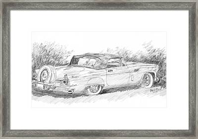Thunderbird Sketch Framed Print