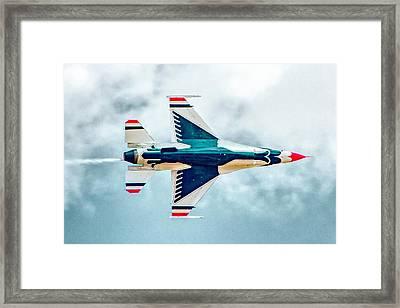 Thunderbird Underbelly Framed Print by Bill Gallagher