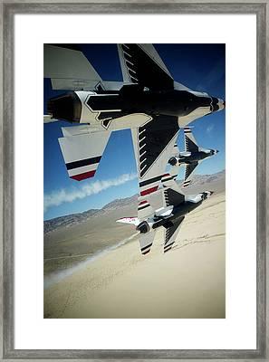 Thunderbirds Photo Framed Print