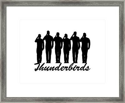 Thunderbirds Pilots Framed Print