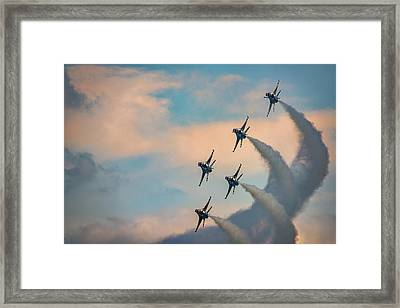 Framed Print featuring the photograph Thunderbirds by Rick Berk