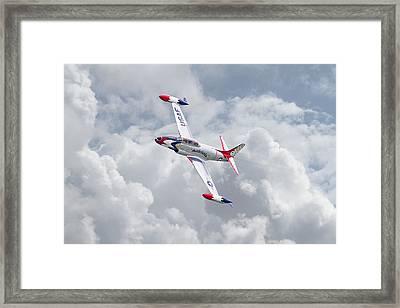 Thunderbirds - T33 Framed Print by Pat Speirs