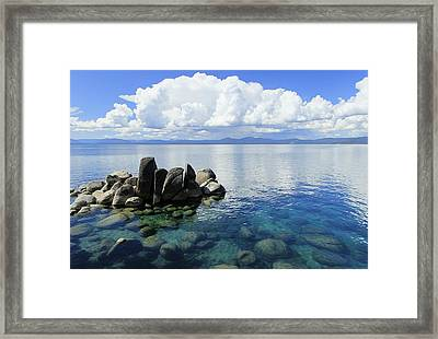 Thunderclouds Framed Print