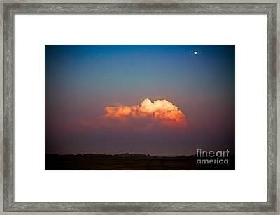 Thunderhead At Dusk Framed Print by Ryan Kelly