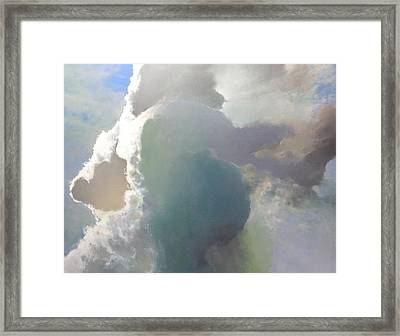 Thunderhead Sold Framed Print