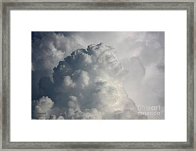 Thunderhead Clouds Framed Print