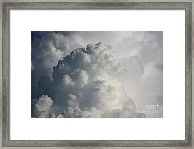 Thunderhead Clouds Framed Print