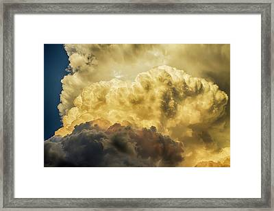 Thunderhead Might Framed Print by James BO Insogna