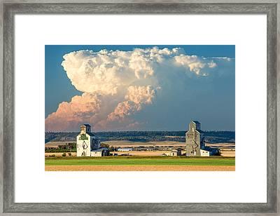 Thunderhead Framed Print by Todd Klassy