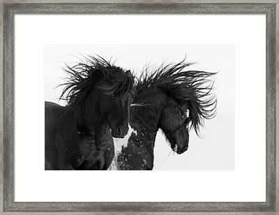 Thunderheart Framed Print