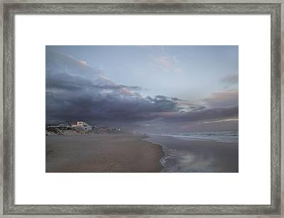 Thundering Distance Framed Print