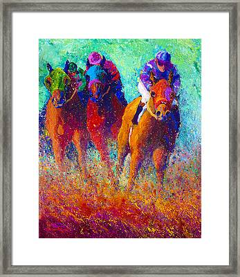 Thundering Hooves Framed Print