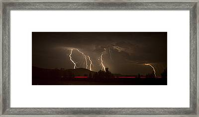 Thunderstorm IIi Framed Print by Albert Seger