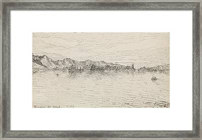 Thunersee Near Schadau Framed Print by Paul Klee