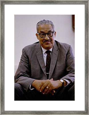 Thurgood Marshall 1908-1993, On June Framed Print by Everett