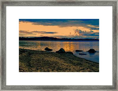 Thuro Beach Framed Print