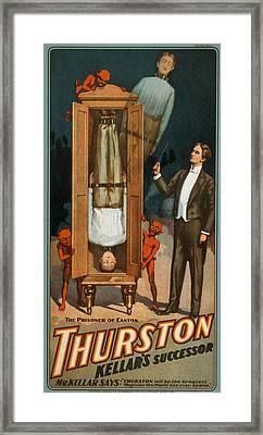 Thurston Prisoner Of Canton Framed Print by David Wagner