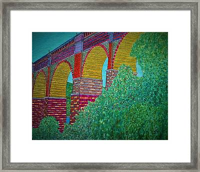 The Highbridge Reimagined Framed Print by John Cunnane