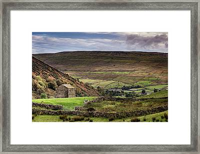 Thwaite Barn Framed Print by Yorkshire In Colour