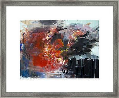 Thx1333-3 Framed Print by Jlo Jlo