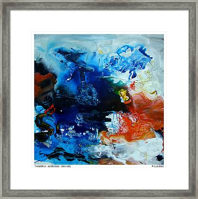Thx1355-2 Framed Print by Jlo Jlo