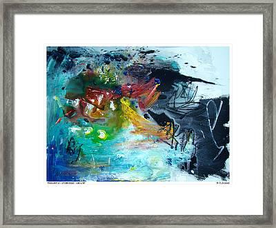 Thx1357-2 Framed Print by Jlo Jlo